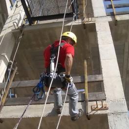 Prevención de Riesgos Laborales en Construcción. Fábricas de albañilería