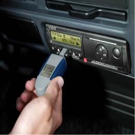 Uso del  tacógrafo digital y tiempos de conducción y descanso
